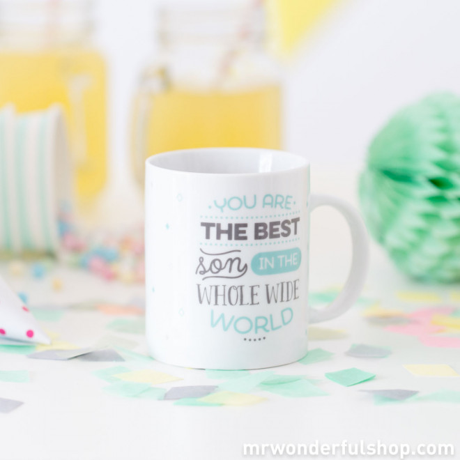 Mug - You are the best son in the whole wide world (ENG)