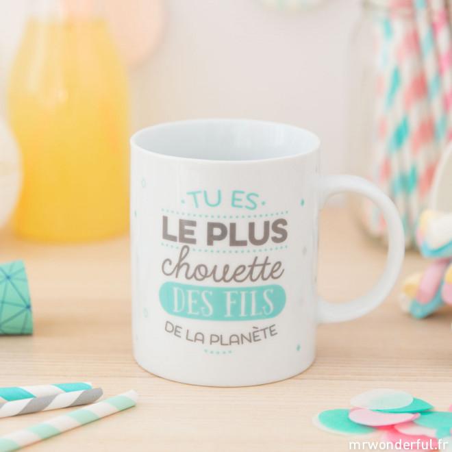 Mug - Tu es le plus chouette des fils de la planète (FR)
