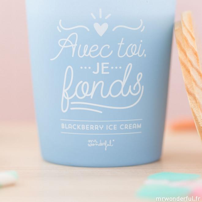 Bougie - Avec toi, je fonds (FR)