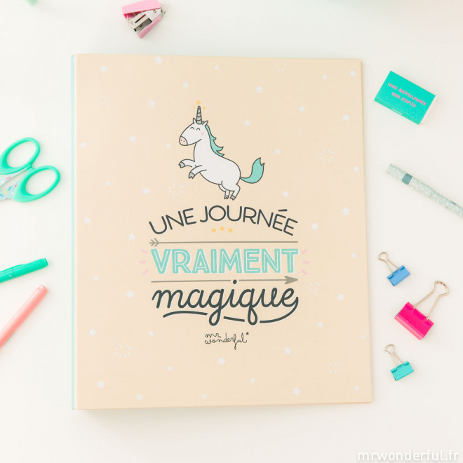 Classeur - Une journée vraiment magique (FR)