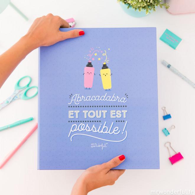 Classeur - Abracadabra et tout est possible! (FR)