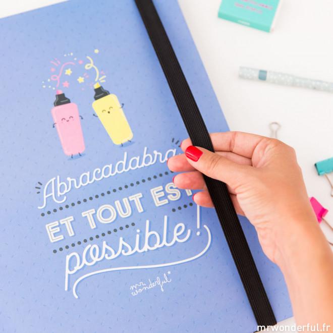 Classeur à anneaux - Abracadabra et tout est possible! (FR)