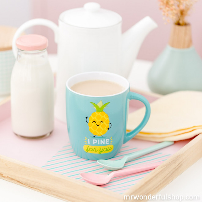 """Mug """"I pine for you"""" (ENG)"""