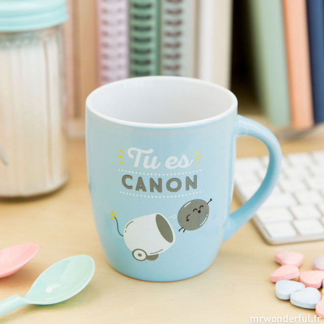 """Mug """"Tu es canon"""" (FR)"""