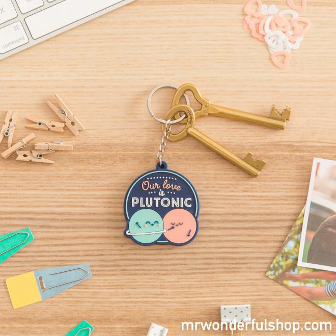 Porte-clés - Our love is Plutonic (ENG)