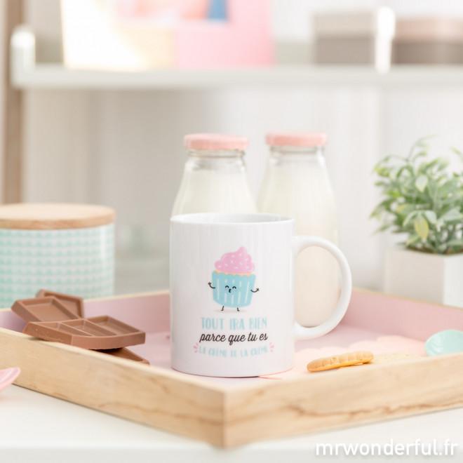 Mug - Tout ira bien parce que tu es la crème de la crème (FR)