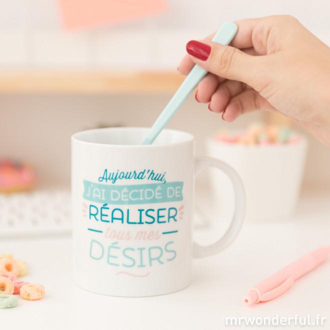 Mug - Aujourd'hui, j'ai décidé de réaliser tous mes désirs