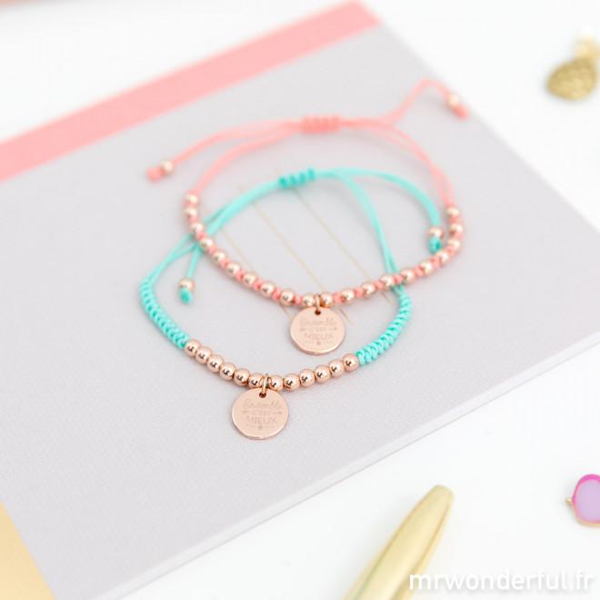 Bracelets pour être toujours ensemble (FR)