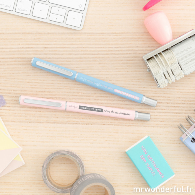 2 super stylos pour que tes rêves deviennent réalité (FR)