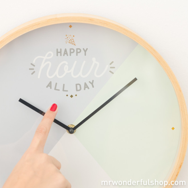 Horloge - Happy hour all day (ENG)