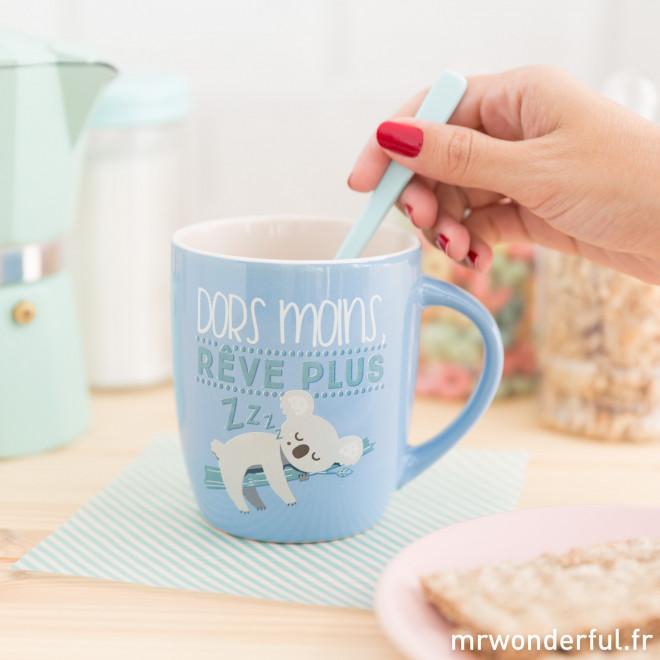 Mug - Dors moins, rêve plus (FR)