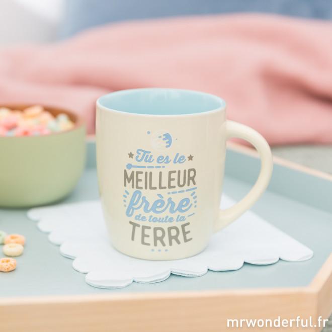 Mug - Tu es le meilleur frère de toute la Terre (FR)