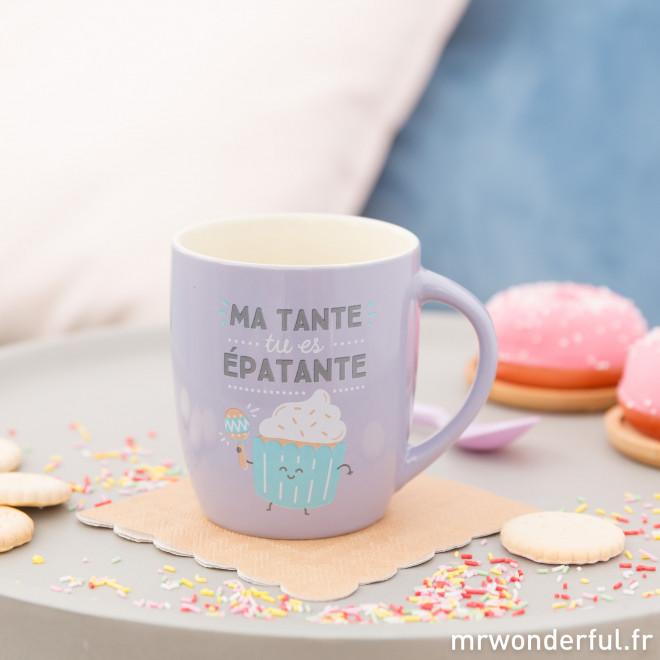 Mug - Ma tante, tu es épatante