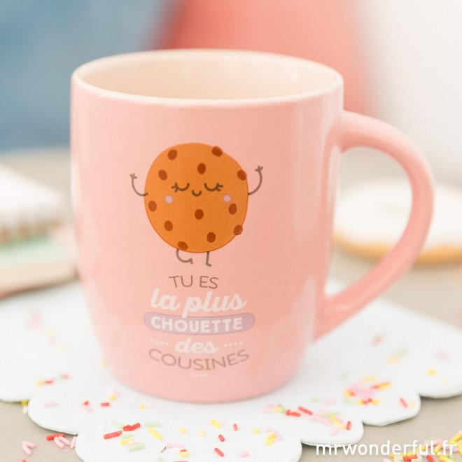 Mug - Tu es la plus chouette des cousines (FR)