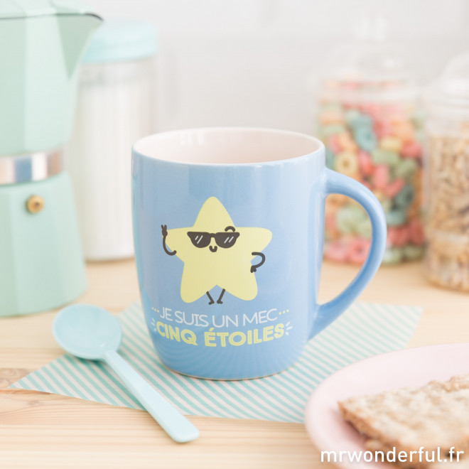 Mug - Je suis un mec cinq étoiles (FR)