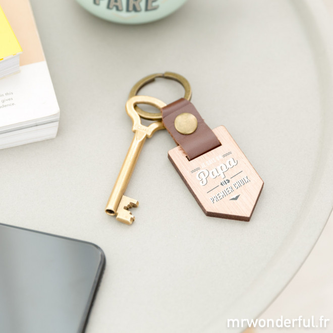 Porte-clés - papa