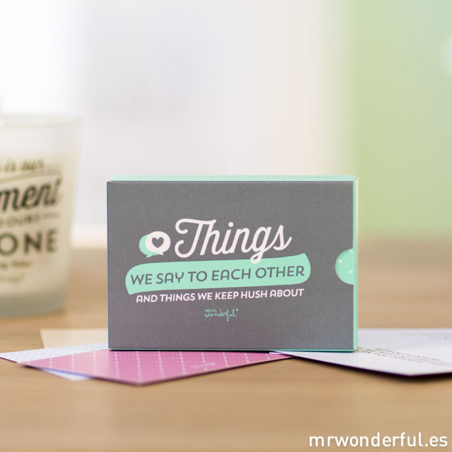 Kit - Things we say to each other and things we keep hush about (ENG)