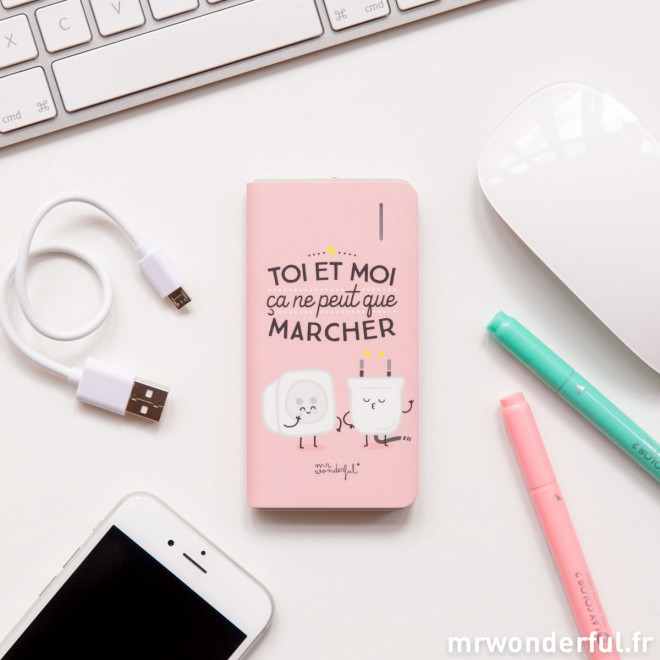 Batterie externe - Mr. Wonderful