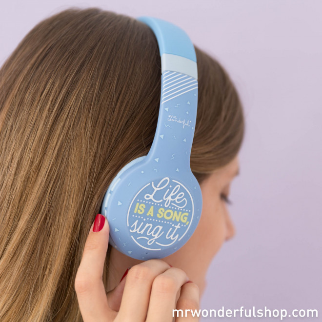 Casque sans fil - Life is a song, sing it (ENG)