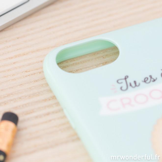 Coque pour iPhone 7 - Tu es à croquer (FR)