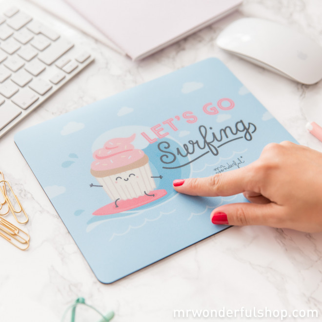 Tapis de souris - Let´s go surfing (ENG)