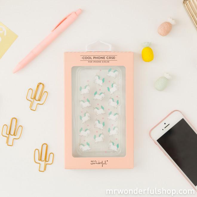 coque iphone 5 de licorne