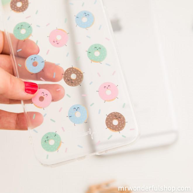 Coque pour iPhone 6 Plus - Donuts