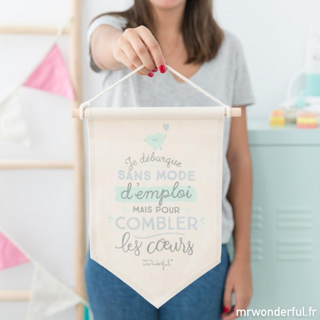 Bannière - Je débarque sans mode d'emploi mais pour combler les cœurs (FR)