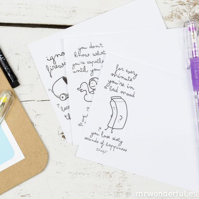 Bloc-notes avec des wonder conseils (ENG)