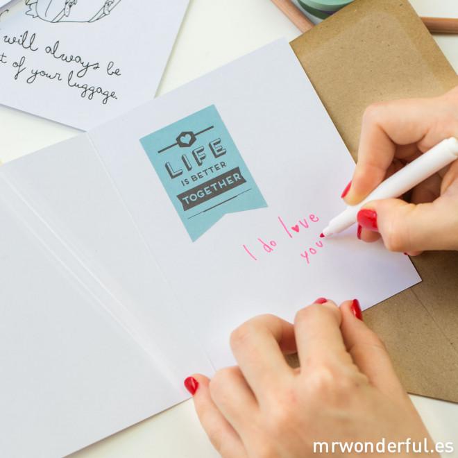 Cartes avec des Wonderconseils - Pack de 5 unités (ENG)