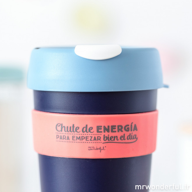 Mug KeepCup - Chute de energía para empezar bien el día - L