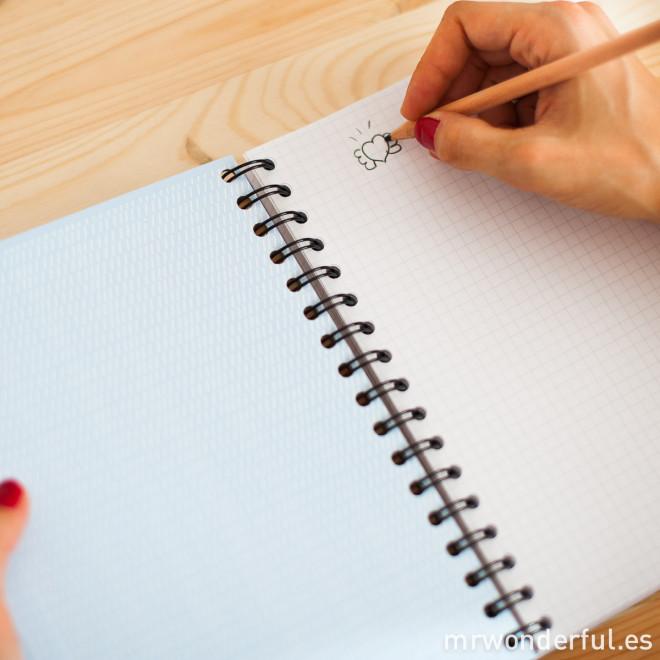 Cahier couleur aux superpouvoirs pour faire surgir de grandes idées (FR)