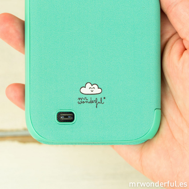 Coque couleur menthe pour Samsung Galaxy S4 - All you need is love and wifi