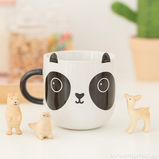 tasse panda kawaii mr wonderful. Black Bedroom Furniture Sets. Home Design Ideas