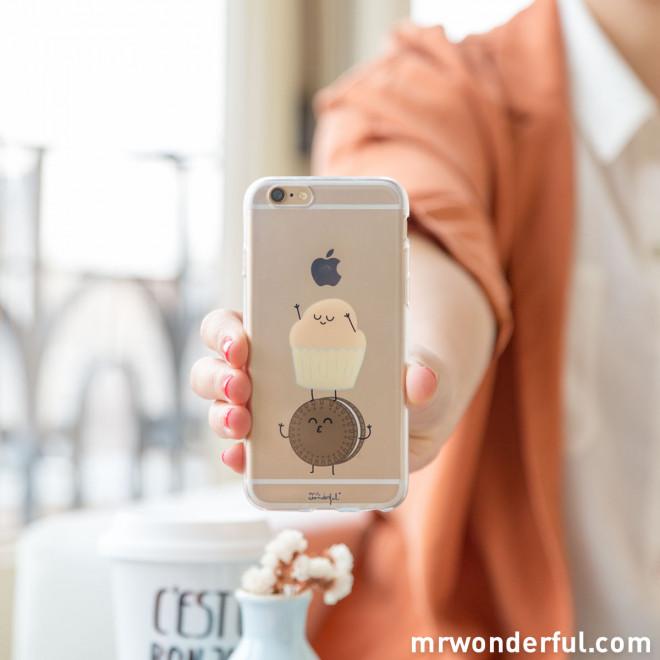 Coque transparente iPhone 6 - Muffin