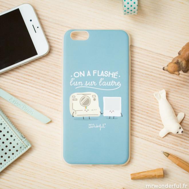 Coque pour iPhone 6S Plus - On a flashé l'un sur l'autre