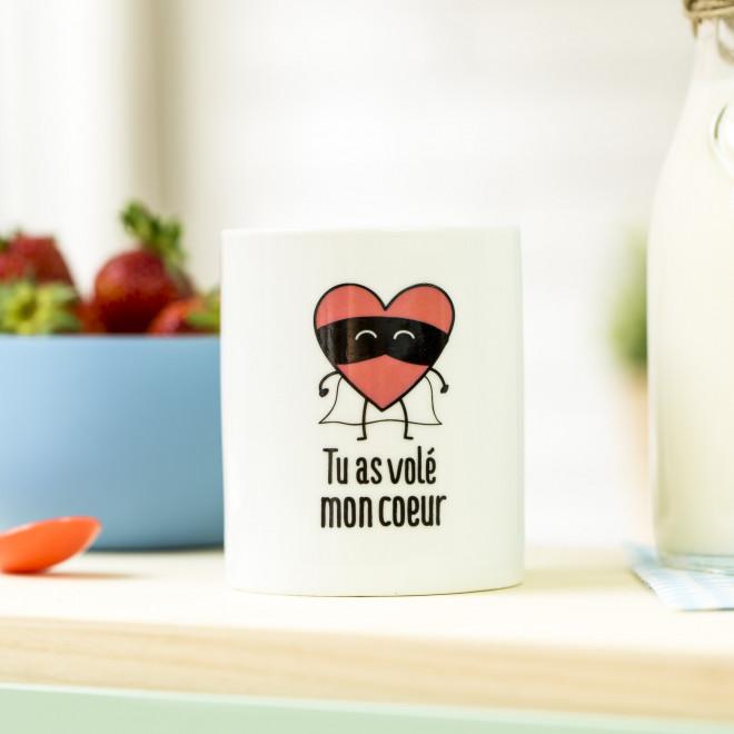 Mug - Tu as volé mon coeur (FR)