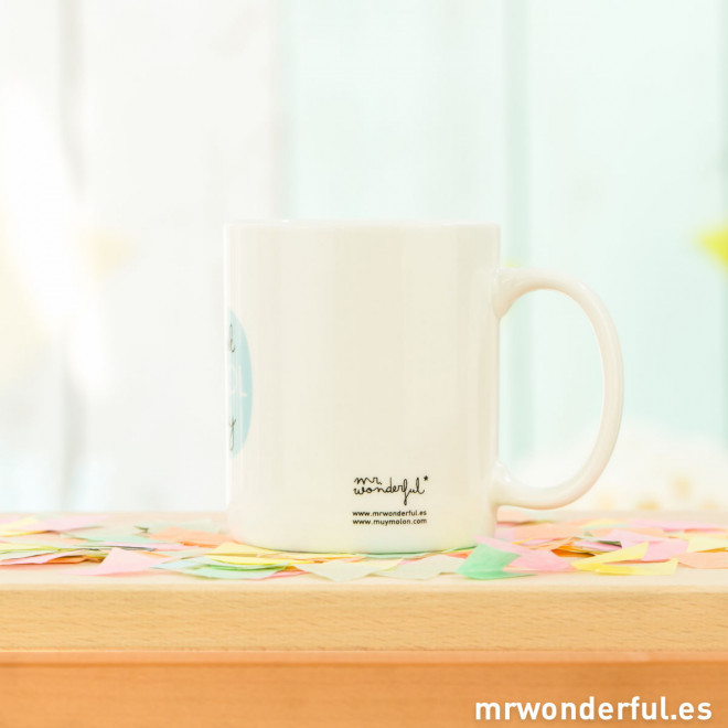 Mug - I look cool today (ENG)