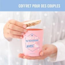 Coffret cadeau pour les couples qui se complètent parfaitement