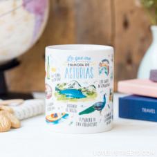 Mug Lovely Streets - Lo que me enamora de Asturia