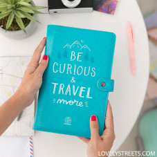 Porte-documents Lovely Streets - Be curious and travel more (ENG)