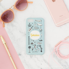 Coque Lovely Streets pour iPhone 7 - Barcelone