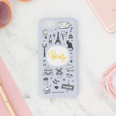 Coque Lovely Streets pour iPhone 7s - Paris