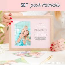 Set cadeau maman spécial cocooning