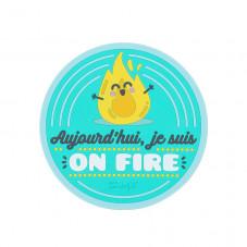 Dessous-de-plat - Aujourd'hui, je suis on fire