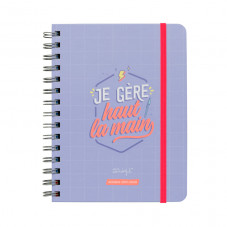 Agenda sketch 2019-2020 Semainier - Je gère haut la main