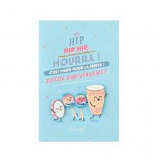 Carte d'anniversaire - C'est parti pour la fiesta!