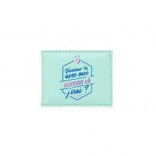 Porte-cartes - Viendras-tu avec moi partout où