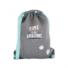 Sac avec cordon de serrage - Time to be amazing