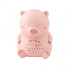 Tirelire cochon pour toutes les belles choses qui nous attendent